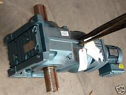 New Sew Eurodrive Electric Motor And Reduction Gear .5 Hp
