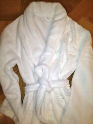 PLUSH MEN'S Spa Bath Robe SOFT 2 Large pockets & waist tie *NEW* GREAT GIFT