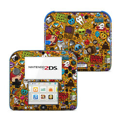 Nintendo 2DS Skin Psychedelic by JThree Concepts Decal Sticker