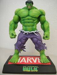 Marvel The Incredible Hulk Maquette Over 9 Statue Avengers Figure Toy