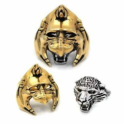 New Battlecat Masters Of The Universe Stainless Steel Ring Licensed By Han Cholo