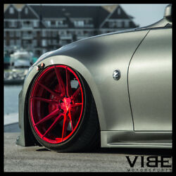 20 Rohana Rfx2 Red Forged Concave Wheels Rims Fits Nissan 350z