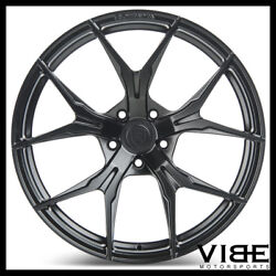 22 Rohana Rfx5 Black Concave Forged Wheels Rims Fits Cadillac Cts V Coupe