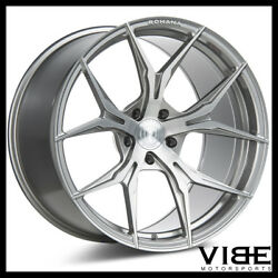 22 Rohana Rfx5 Titanium Concave Forged Wheels Rims Fits Cadillac Cts V Coupe