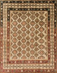 7and039x9and039 Loloi Rug Nomad Jute Beige Hand-knotted Transitional Nm-04