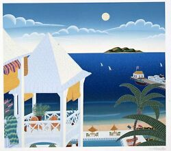 Thomas Mcknight - St. Kitts Carribbean Dreams Suite, Hand-signed Serigraph