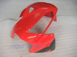 Abs Front Fairing Nose Upper Cowl Fit For Honda Cbr600rr F5 2005 2006 Red Black
