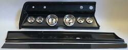 66 Chevelle Carbon Dash Carrier W/ Auto Meter American Muscle Gauges