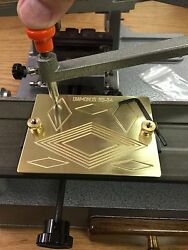 Brass Engraving Plate For New Hermes Font Tray Diamond Engineering Symbol