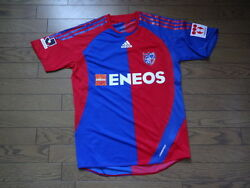 Fc Tokyo 100 Authentic Player Issue Jersey O 2010 Home J-league Formotion[2681]