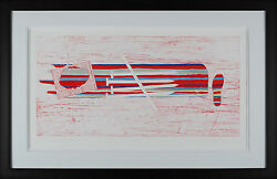 James Rosenquist - For Gene Swenson Hand-signed Etching Framed