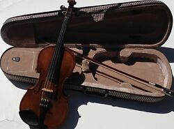 Classic String Student Violin Size 1/2 With Dominant Strings+ Free Case And Bow