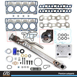 Upgraded Egr Cooler Kit Oil Cooler Kit Head Gaskets 18mm Ford 6.0l Powerstroke