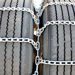 Titan Tire Chains Dual/triple On Road Snow/ice 5.5mm 8-19.5