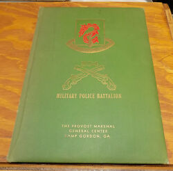 1952 United States Military Unit Yearbook/504th Military Police Battalion