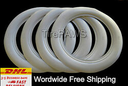 Firestone Tire Style 16and039and039x3and039and039 White Walls Tire Insert Trim Portawalls-universal