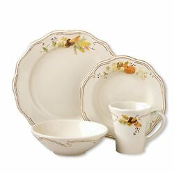 Pfaltzgraff Holiday Thanksgiving Plymouth 48-piece Dinnerware Set Dishes New