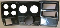 84-87 Chevy Truck Carbon Dash Carrier Panel For 3-3/8 2-1/16 Gauges
