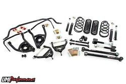 1968-72 Chevelle Umi Suspension Kit Handling Package 1 Drop Black Stage 3
