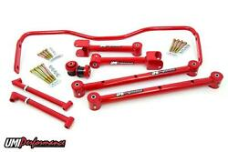 Umi Performance 64-67 Chevelle A-body Upper And Lower Control Arm Kit W Sway Bar