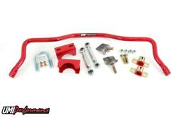 Umi Performance 82-02 Camaro F-body Rear Drag Sway Bar For Stock Rear End - Red