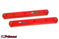 Umi Performance 78-88 Regal El Co G-body Rear Boxed Lower Control Arm Pair - Red