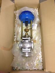 New - Von Rohr Pneumatic Stroke Actuator Type-ma21a6 With Series 300 Valve