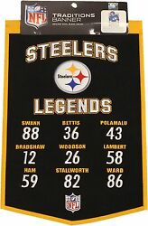 Pittsburgh Steelers Traditions Legends Banner Wool 13132