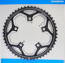 Shimano Fc-rs500 50t-mh Chainring Fits 50-34t Crank 2x11 Speed 110mm Bcd Black