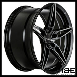 20 Ace Aff01 Flow Form Black Concave Wheels Rims Fits Ford Mustang Gt