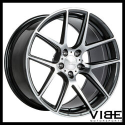 19 Ace Aff02 Flow Form Grey Concave Wheels Rims Fits Ford Mustang Gt Gt500