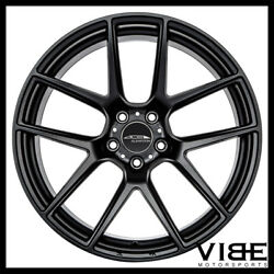 19 Ace Aff02 Flow Form Black Concave Wheels Rims Fits Ford Mustang Gt