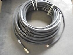 Kvh Rg11 Coax Cable 32-0566-0100 M7 Hd7 100and039 Feet Belden Ag50605 Complete /w End