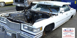 1974 1975 1976 Cadillac Deville And Calais Nice Solid Frame
