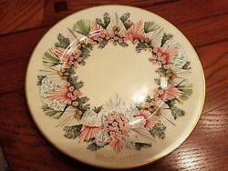Complete Set Of 13 Lenox Colonial Christmas Wreath Plates New In Box