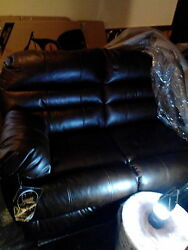 Signature Design Brown Reclining Sofa Both Ends And Recliner