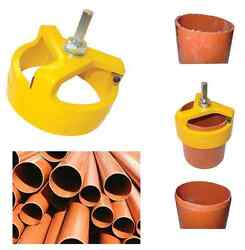 Innotec Pipe Chamfering Tool 110mm Underground Soil Pipes Choose Tool Or Blades
