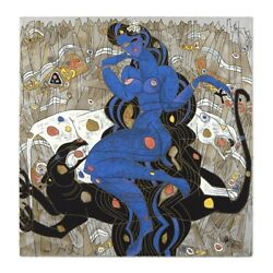 Jiang Tiefeng Mountain Ghost 1/293 Large Serigraph 7500 Retail, Sold Out