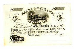 South Africa Andhellip P-n.l Hern 29 Andhellip 5 Pounds Andhellip 185x Andhellip Unc Reminder.
