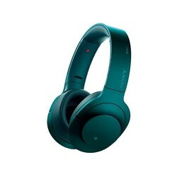 Sony Mdr-100abn Viridian Blue Noise Cancellation Wireless Headphones Mdr100abn