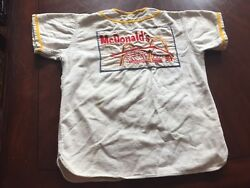1950's / 60's Mcdonalds Golden Arches Baeball Jersey