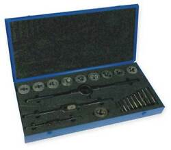 CLEVELAND C00611 Tap and Die Set14 to 1 In24 pc