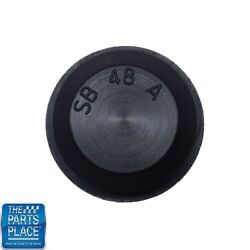 All Years Rubber Floor Pan Plug And Trunk Drop Off Drain Plug - Each