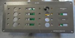 Used Bass Products 24 Vdc Panel 10l X 4 1/2h 3d Boat Rv