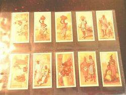 1936 Cws African Types Zuluafrica Life Complete Set Tobacco Cigarette 24 Cards