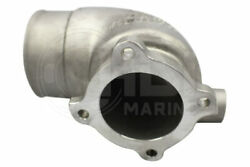 4b Stainless Steel Exhaust Mixing Elbow Replaces Yanmar P/n 119173-13501