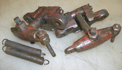 Governor Weights And Brackets For Associated Or United Hit Miss Gas Engine
