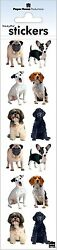 Scrapbooking Crafts Stickers Paper House Slim Small Mixed Dogs Pug Poodle Beagle