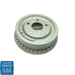 1962-88 Gm Cars Rear Finned Brake Drums Cast Iron 9-1/2 Each