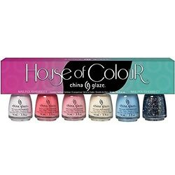 China Glaze Nail Polish House Of Colour Collection Of Six Bottles